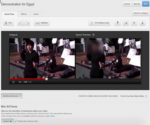 YouTube Launches Face Blurring Tool to Keep Protesters Anonymous