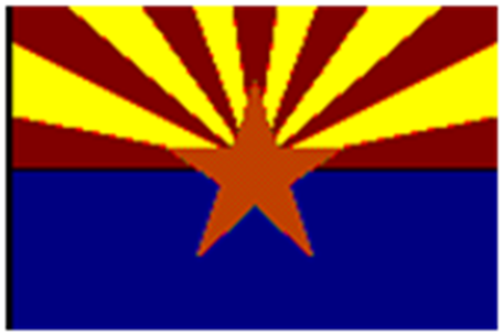 Arizona State flag star