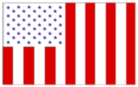 United states peace flag natanial hawthorne thirteen stripes vertically civil non military post