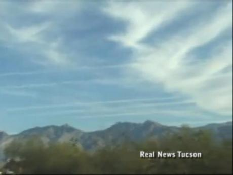 Chemtrails Over Tucson 03/17/2011 Completely Covered!