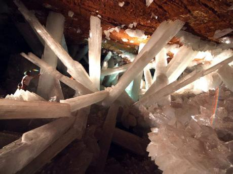 Where Superman Lives - Naica Crystal Caves (PowerPoint file)