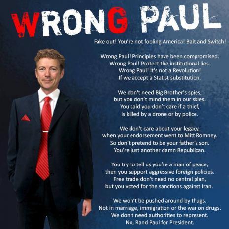 WronG Paul