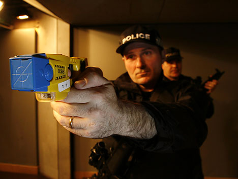 Taser-crazy cops becoming global epidemic