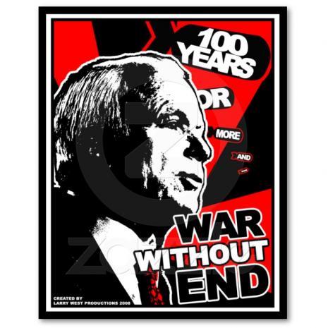 Obama plans permanent war