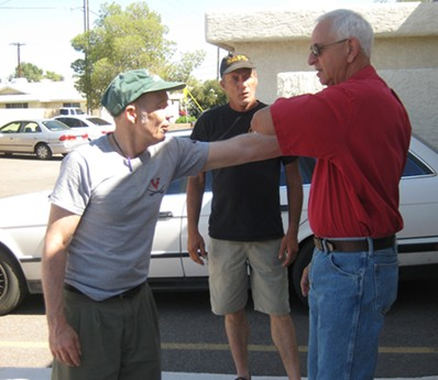 John Wimbish Ted Goldberg Stratagic Edge Business Alliance Martial Arts Training Freedoms Phoenix