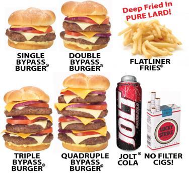 heart attack grill nurses. Heart Attack Grill: Lard,