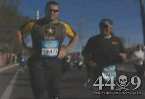 Marathon runners get exposed