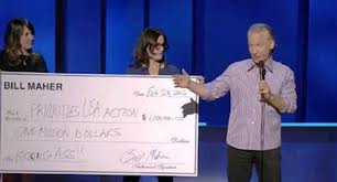 Will Obama Super PAC Return Misogynist Bill Maher's Million-Dollar Donation?