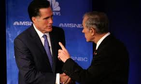 Handling Defeat: Mitt Romney vs. Ron Paul
