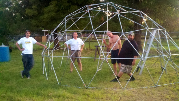 Construction Tips for making Geodesic Domes...