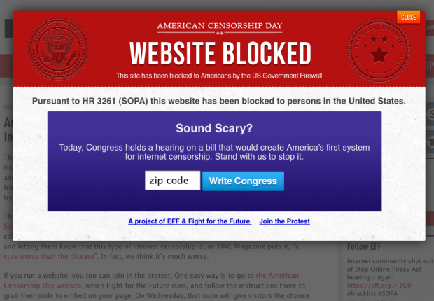 Internet Censorship Bill Authored by Bob Goodlatte...