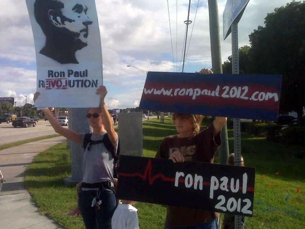 RON PAUL SIGN BOMB HITS AMERICA!