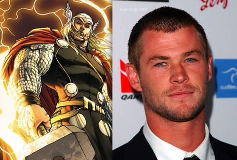 thor chris hemsworth body. Gods Smile Upon Mighty Thor at