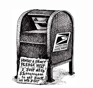 Postal Service Prepares for Second Default in Two Months