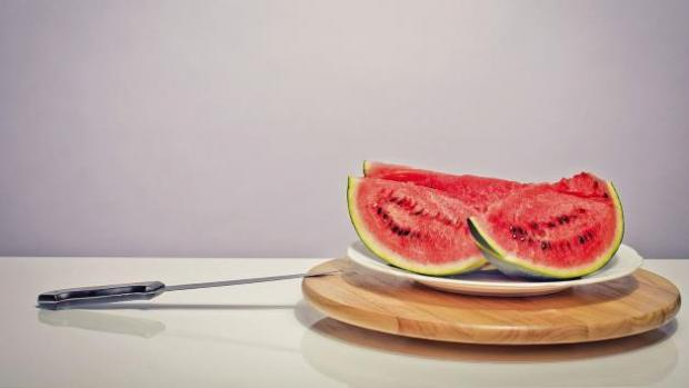 Connecticut man arrested after stabbing watermelon