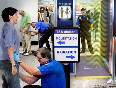 Cancer Surges In Body Scanner Operators; TSA Launches Cover-Up