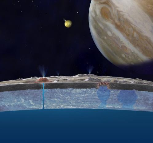 Europa's Oceans Might Taste Like Earth's Oceans