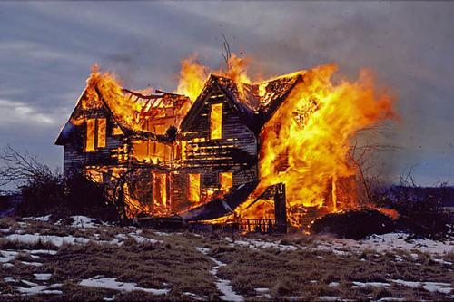 Climate Alarmist Calls For Burning Down Skeptics' Homes