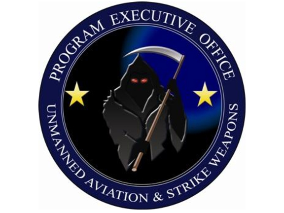 This Is The Awesomely Bad Logo For The Navy's Drone Department