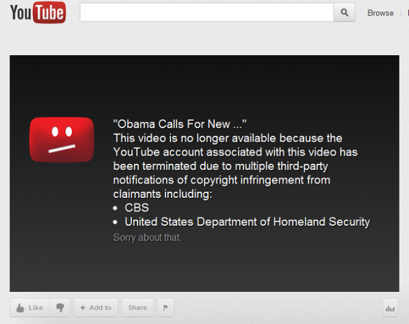 Homeland Security Teams Up With YouTube To Take Down Controversial Videos
