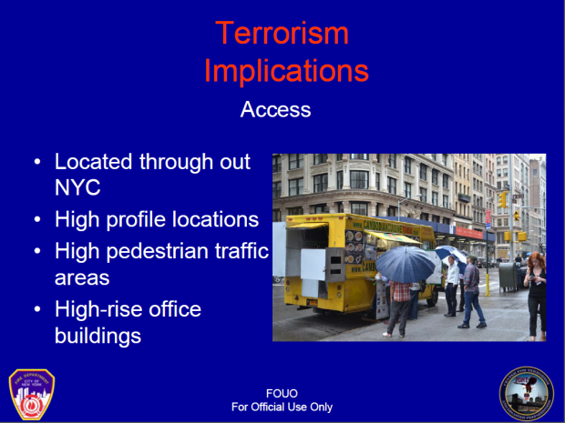 DHS Labels New York Food Carts As Possible Terrorist Access Points