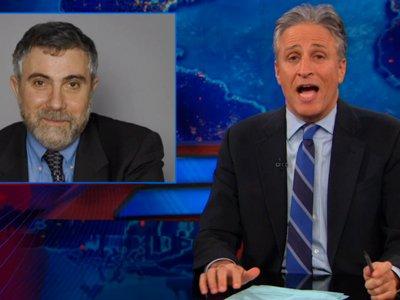 Jon Stewart Fires Back At Paul Krugman: