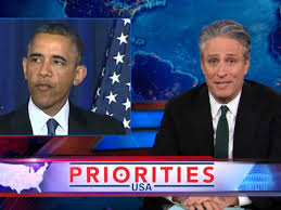 Jon Stewart rips Obama for aggressive investigation of whistle-blowers instead of bankers