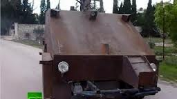 PlayStation-Controlled DIY Tank May Be the Wildest Weapon Yet in the Syria War