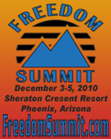 Freedom Summit www.freedomsummit.com Ernest Hancock Marc Victor