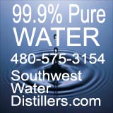 south west water distillers pure water