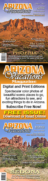 Get a Free Subscription to Arizona Vacations Magazine!