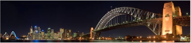 WORLD'S WIDEST BRIDGE AUSTRALIA Sydney harbor bridge, Australia 16 lanes of car traffic 8 lanes upper floor 8 lower floor
