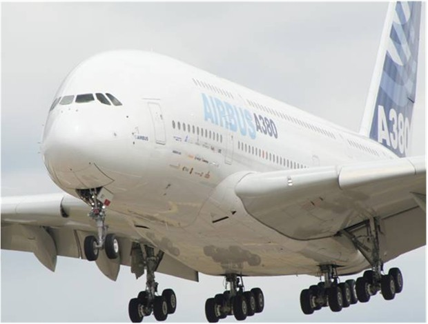 WORLD'S BIGGEST PLANE Airbus A380 555 Passengers