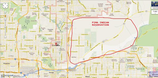 Map Of Arizona Casinos.Arizona Indian Casinos Map Casino Games Online