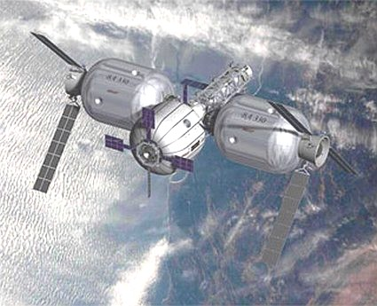 Artist concept, Sundancer and two BA330 modules linked