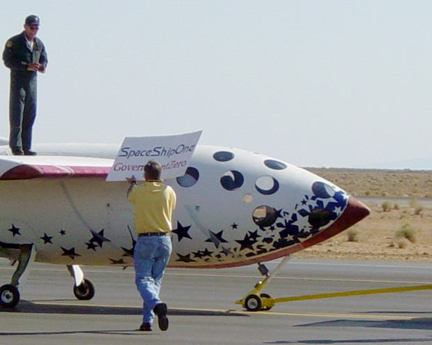 SpaceShipOne, GovernmentZero