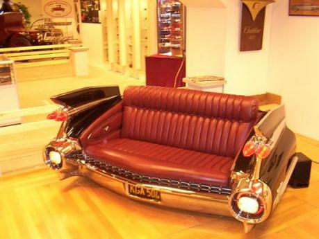 Custom furniture made from car parts freedoms phoenix Custom furniture made car parts