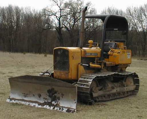 Man On Bulldozer : Article image