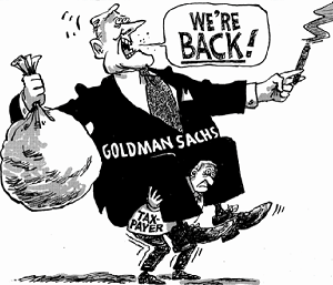 Image result for goldman sachs cartoons