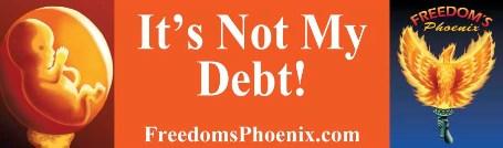 It's Not Their Debt!