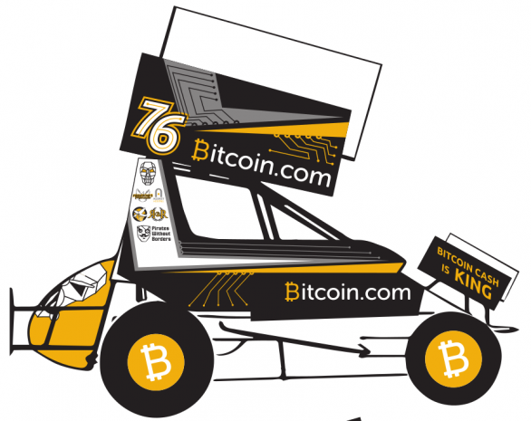 Bitcoin.com Sprint Car