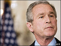 Bush sets conditions for testimony (cartoon)