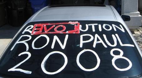 Ron Paul Revolution infection.