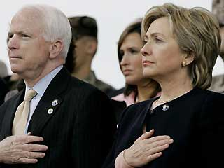 The 'John McCain / Hillary Clinton Team' can't be hid forever