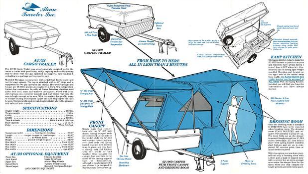 Alcan Traveler - Camping Trailer