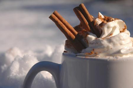 A good Hot Chocolate is much more important than the cup it's in