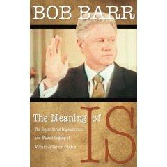 Ex-Republican Congressman Bob Barr of Georgia joins the Libertarian Party Leadership (Audio)