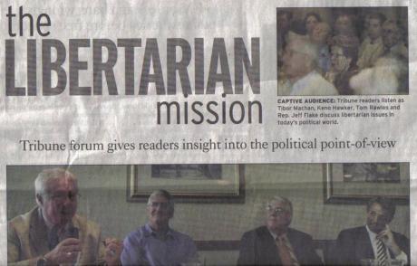 <i>East Valley Tribune</i> article, Sunday, April 8, 2007