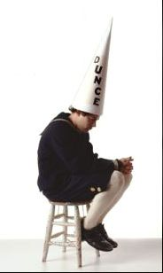 Who's a dunce?