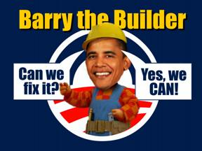 Funny! Barry the Builder: